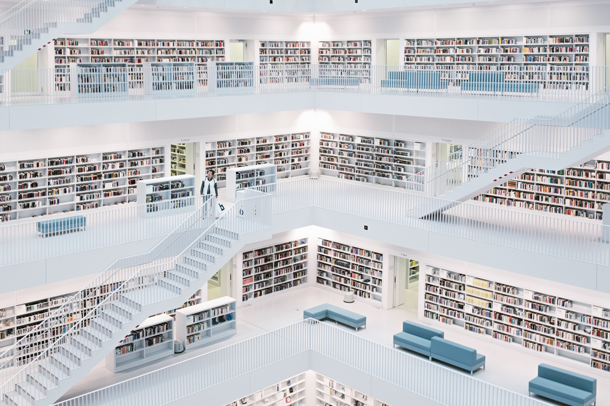 nuova biblioteca di stoccarda