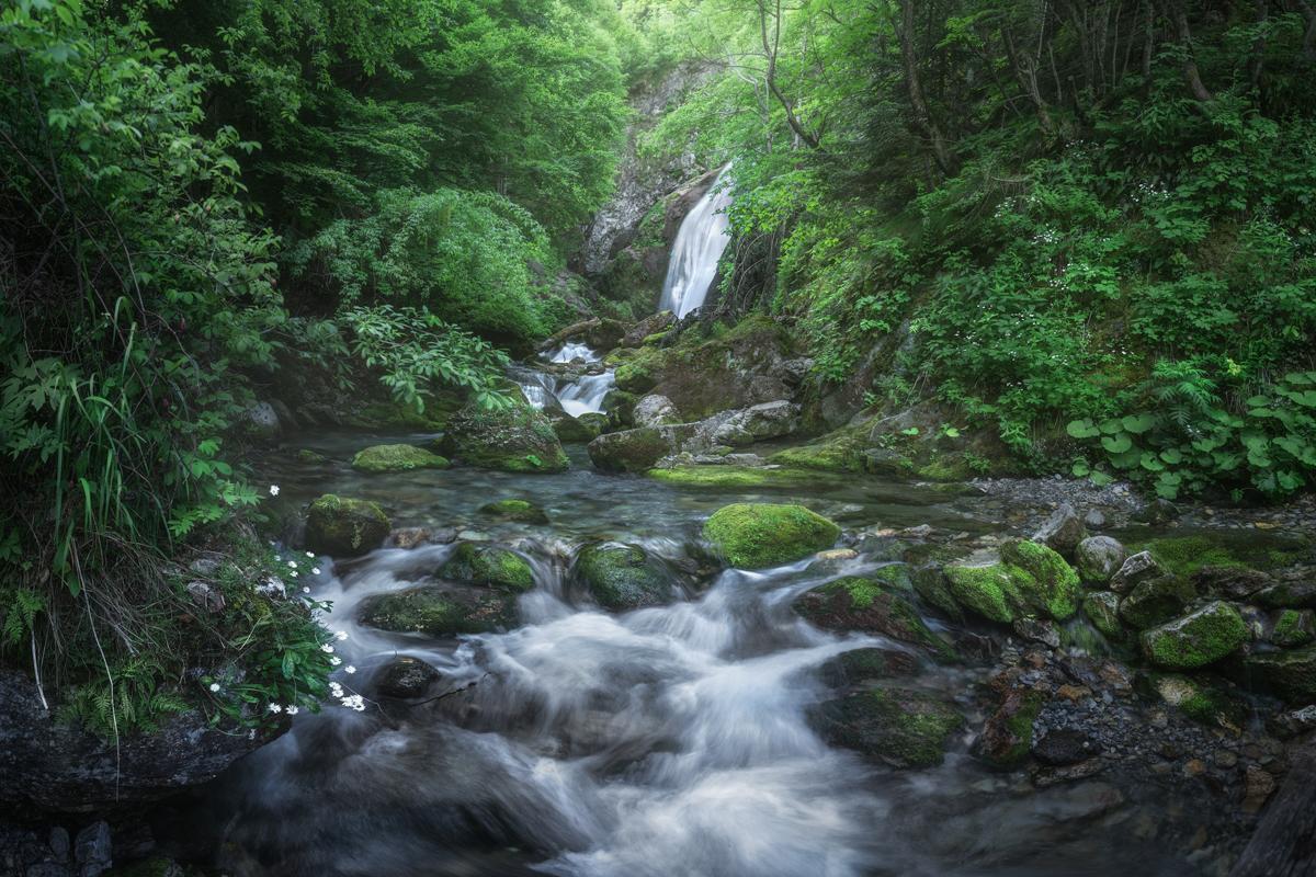 cascata gias fontana valle pesio