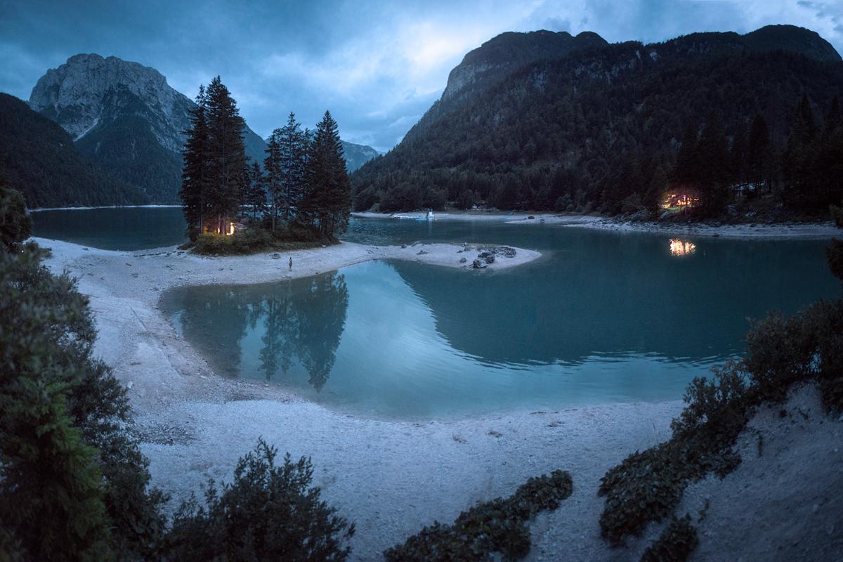 predil lake bluehour