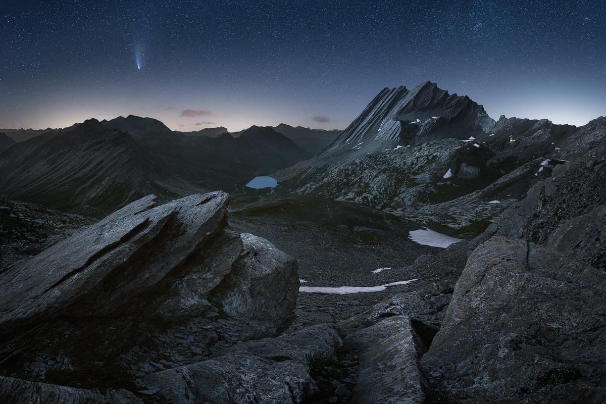 taillante cometa neowise
